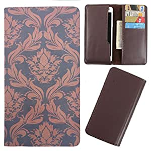DooDa - For iberry Auxus Core X8 PU Leather Designer Fashionable Fancy Case Cover Pouch With Card & Cash Slots & Smooth Inner Velvet