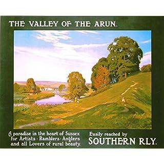 vps Vintage Southern Railways Arun Valley Sussex Railwayn Poster A3 Print
