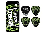 Dunlop Hetfield Fang Black Pick Tin - 6 Pack .94mm