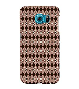 EPICCASE black diamond Mobile Back Case Cover For Samsung Galaxy S6 (Designer Case)