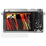 atFoliX Folie für Olympus SH-1 Displayschutzfolie - 3 x FX-Antireflex-HD hochauflösende entspiegelnde Schutzfolie