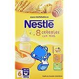 Nestlé Papillas 8 Cereales con Miel a Partir de 6 Meses - 600 g