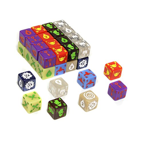 [UK-Import]Quarriors! Quartifacts Dice-building Board Game