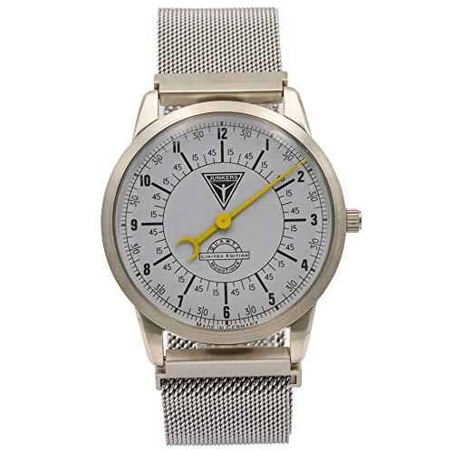 Junkers Herren Quarzuhr - Monotimer Limited Edition Milanaise Armband Silber 6332-5 -...