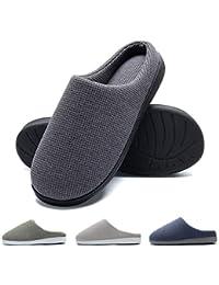 HARRMS Pantofole da casa per Uomo, Ultra-Leggero Confortevole e Antiscivolo, Ciabatte da Uomo per casa