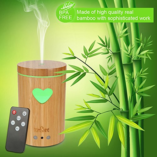 tomshine-160ml-bpa-free-aroma-essential-oil-diffuser-mist-air-humidifier-bamboo-aromatherapy-night-l