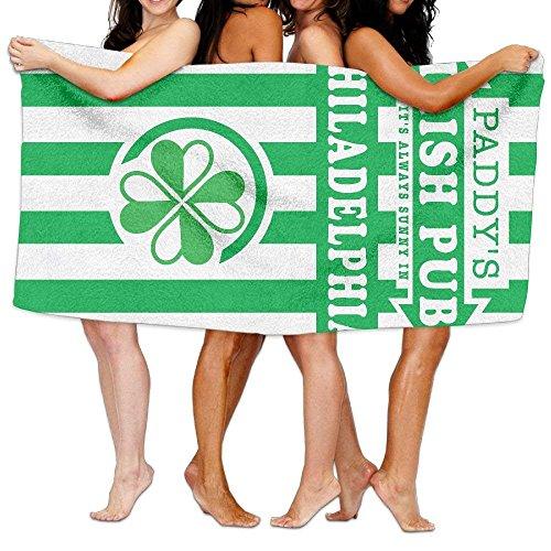 guolinadeou Beach Towel It's Always Sunny In Philadelphia Paddy's Irish Pub 80