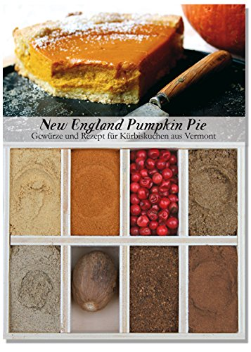 Feuer & Glas - 8 verschiedene Gewürze für New England Pumpkin Pie ( 56g )