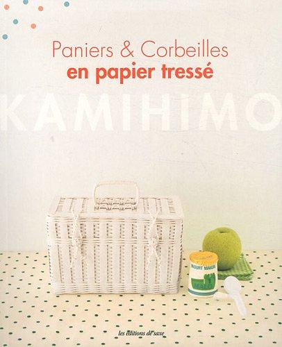 Paniers & Corbeilles en papier tressé : Kamihimo