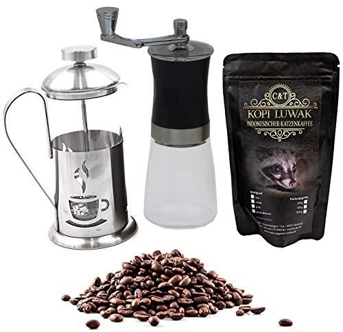 Kaffee Geschenk-Set mit edlem Raritäten-Kaffee