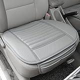Gaosheng 1 Stück Auto Sitzkissen Sitzauflage Auto Vodersitz Kissen Autositz Abdeckung Universal für Vier Jahreszeit Grau