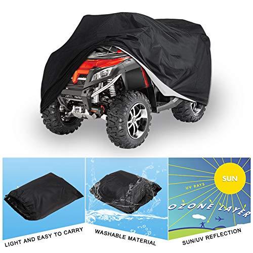 Atv Moto Cubierta Exterior Impermeable Sol UV Almacenamiento