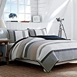 Best Nautica Quilts - Nautica 201248 Cotton Reversible Quilt, King, Tideway Review