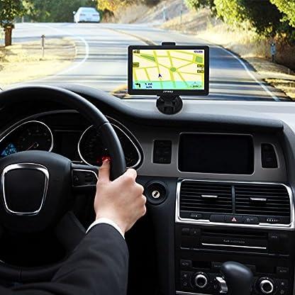 GPS-Navi-Navigation-fr-Auto-LKW-PKW-5-Zoll-8GB-256MB-Lebenslang-Kostenloses-Kartenupdate-Navigationsgert-mit-POI-Blitzerwarnung-Sprachfhrung-Fahrspurassistent-2019-EU-UK-50-Karten