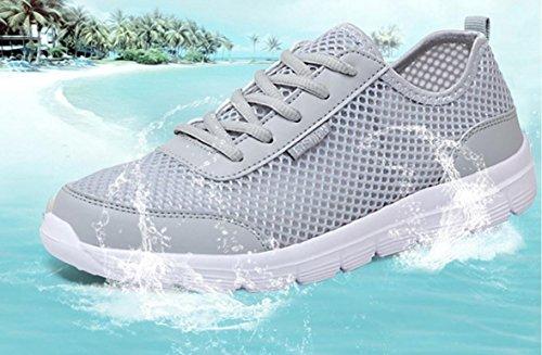 Elwow , Herren Aqua Schuhe Grau