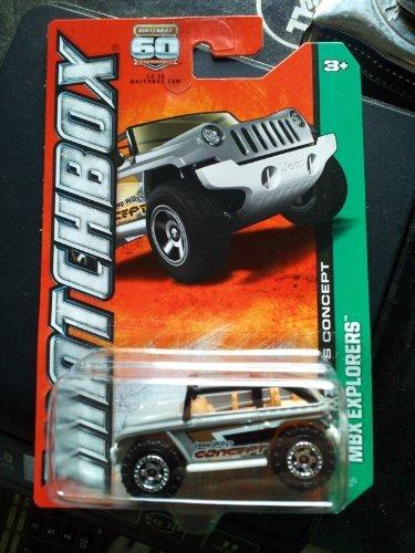 2013 Matchbox Mbx Explorers Jeep Willys Concept