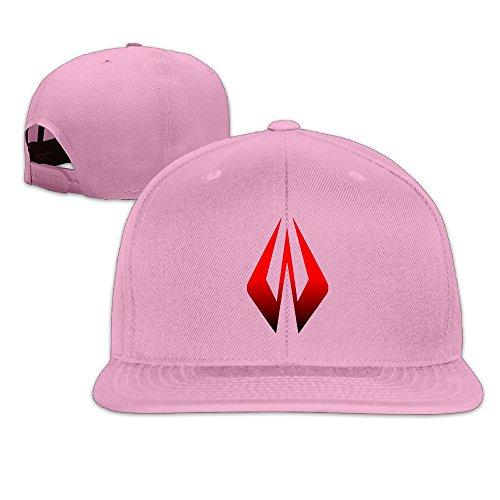 thna-kimi-r-ikk-en-logo-regolabile-moda-cappello-da-baseball-pink-taglia-unica