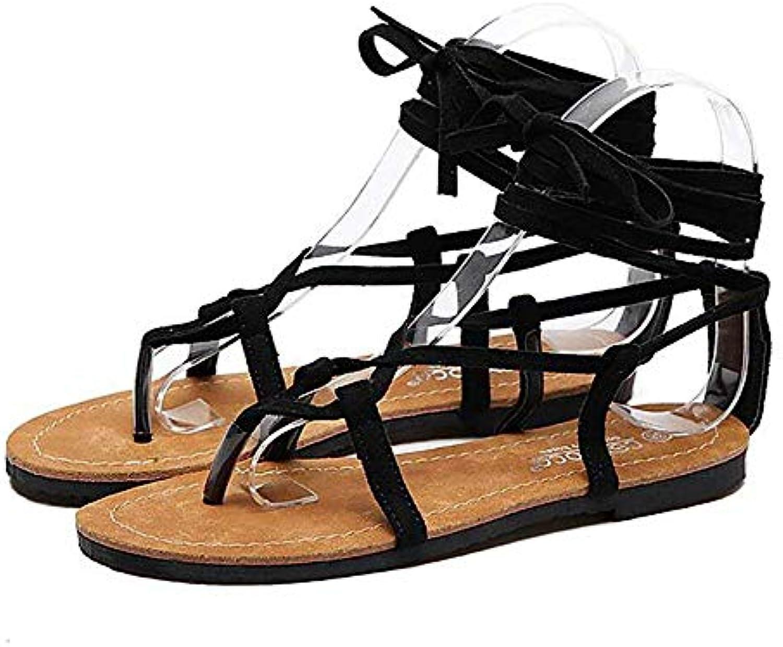 Fuxitoggo Easy Cozy Casual Cross Straps Sandals, Nero, 40 (Coloreee   nero, Dimensione   35) | Offerta Speciale  | Gentiluomo/Signora Scarpa