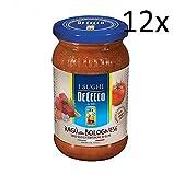 12x De Cecco ragù ragu alla Bolognese tomaten sauce Rind & Schweine fleisch 200g