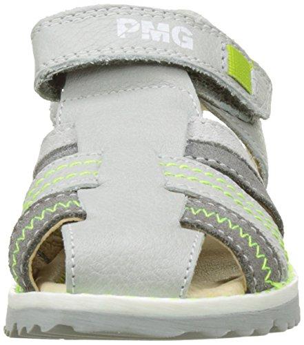 Primigi Pfp 7128, Sandales Bout Fermé Garçon Gris (Perla/Grigio Sc)