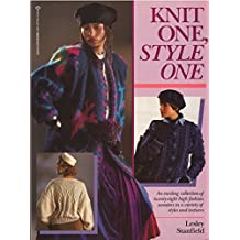 Knit One Style One: A New Knitting Collection from Lesley Stanfield