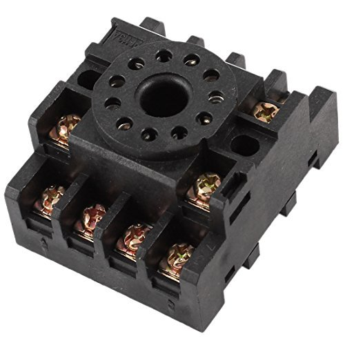 PF113A 35mm DIN Rail Relay Socket Base 11-pin voor JTX-3C MK3P 11-pin Relay Socket