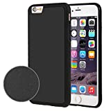 iPhone 6s 6 Fall, Fone-Stuff® - anti Schwere Saug Selbst Stick auf Oberflächenabdeckung mit Nano-Technologie - schwarz