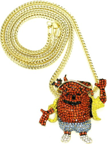 kool-aid-necklace-man-new-pendant-with-gold-color-36-inch-franco-style-chain