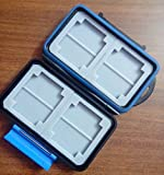 #4: GENERIC Waterproof Extremely tough Memory Card Case MC-2 for 4 CF cards 8 SD cards (similar to JJC)