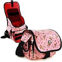 TLC Rockabetty sac bandoulière pour DSLR photo numérique et Compact - Noir DSLR RockaBetty Pink
