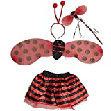Lady Bug Wings Costume