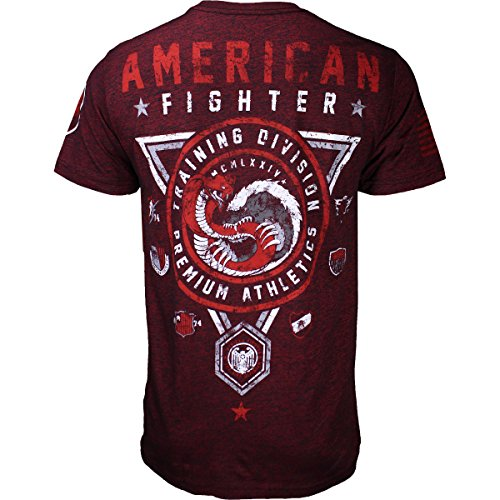 American Fighter - Herren Humboldt-T-Shirt Rusted Red