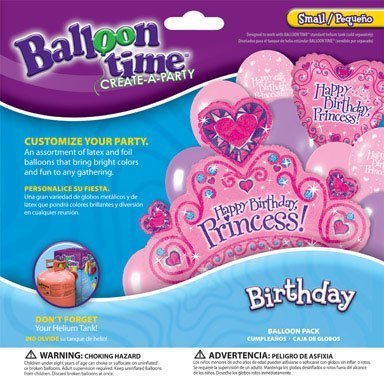 balloon-time-balloon-pack-princess-use-w-helium-balloon-kit-ace-2292043-by-worthington-cylinders
