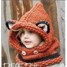 0102da156ecc4 Yukun Gorro de lana Lindo Oreja Animal Algodón Sombrero Otoño E Invierno  Espesar Orejeras Calientes Punto