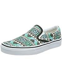Zapatillas Vans – Classic Slip-On (geo) Negro/Multicolor, Negro, 39