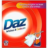 Daz Poudre pour laver blancs et couleurs Vêtements 22 Washes (pack de 6 x 22wash)