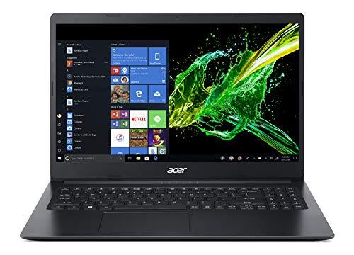 Acer Aspire 3 A315-22-956Q Notebook con Processore AMD Dual-Core A9-9420e, Ram da 8 GB DDR4, 256 GB PCIe NVMe SSD, Display da 15.6' HD LED LCD, Scheda Grafica AMD Radeon R5, Windows 10 Home, Nero