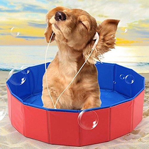 HLMHHL Pet Piscina de la Piscina Plegable para Mascotas Summer Pet Beauty...