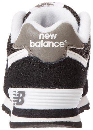 New Balance KL574 I Running Shoe (Infant/Toddler) Black
