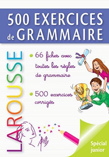 500 exercices de grammaire (Parascolaire) por André Vulin