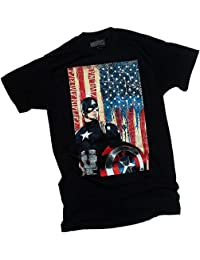 Patriotic Captain -- Captain America: Civil War Adult T-Shirt