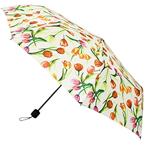 Signare Moda pieghevole ombrello manico dritto per