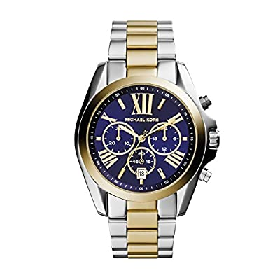 Michael Kors para mujer-reloj cronógrafo de cuarzo chapado en acero inoxidable MK5976
