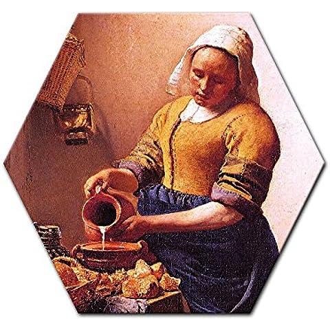 Bilderdepot24 Cuadros en Lienzo Jan Vermeer - Viejos Maestros