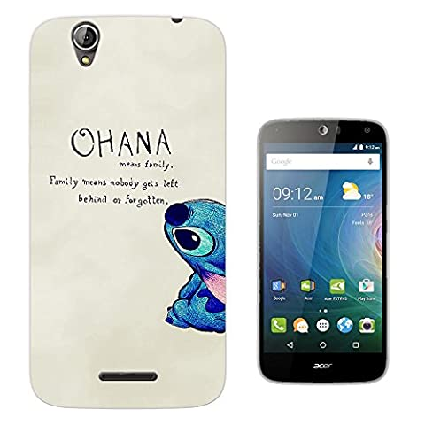 103 - Ohana Family Meaning Fun Cool Design Acer Liquid Z630 Z630S Fashion Trend Protecteur Coque Gel Rubber Silicone protection Case Coque
