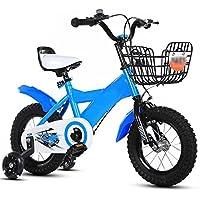 ZCRFY Bicicleta para Niños Bicicletas Infantiles Niñas Bebé Asiento Y Manubrios Ajustables Hombres Y Mujeres Cómodo