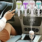 #3: Qualimate Air Humidifier Car Plug Humidifier Air Purifier Freshener ( Design & color may vary