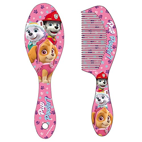 paw-patrol-blister-cepillo-pelo-accesorios-cerda-2500-0584-colores-surtidos