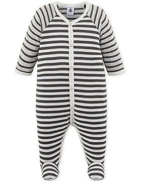 Petit Bateau Baby-Jungen Schlafstrampler Dors Bien
