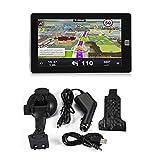 7 Pulgadas Pantalla t/áctil Navegador GPS Leaftree: navegaci/ón GPS para autom/óvil mapas incorporados de por Vida indicaciones de Voz para Camiones de veh/ículos